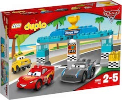 LEGO DUPLO Cars 3 Piston Cup Race reviewed