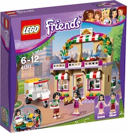 LEGO Friends Heartlake Pizzeria - 41311