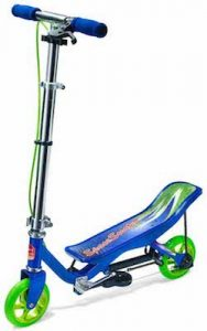 Space Scooter Junior - Step - Blauw