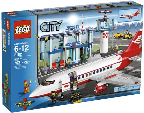 LEGO City luchthaven GROOT