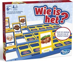 Wie is het? Bordspel