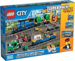 LEGO City Treinen Super Pack 4in1